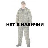 Костюм ТУРИСТ 2 куртка/брюки, камуфляж Камыш, ткань : Твил Пич
