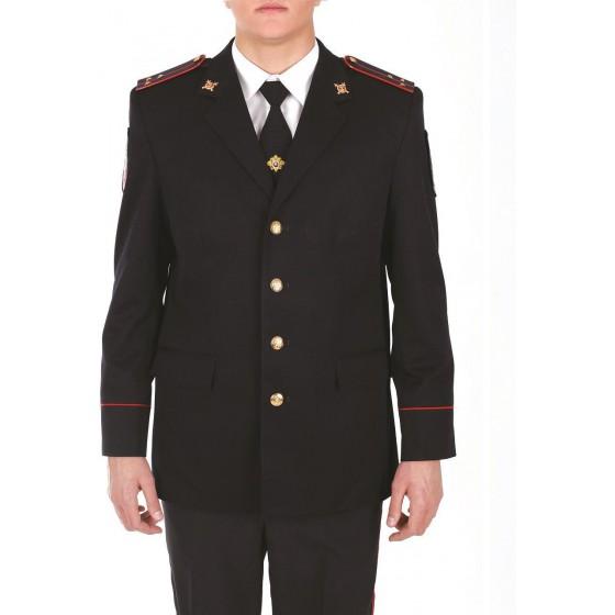 Китель Полиции темно-синий индивидуальный пошив