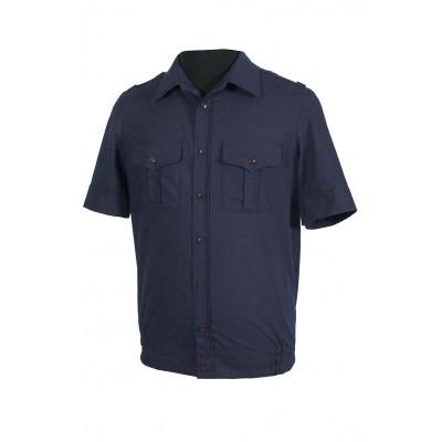 Рубашка офисная ВКС, ВМФ, МО с коротким рукавом