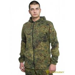 Куртка флисовая TERRA пиксель