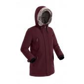Удлиненная женская куртка-парка BASK MEDEA V2 бордовая