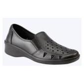Туфли женские Валя, крупная перфорация