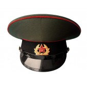 Фуражка СССР с черным околышем уставная