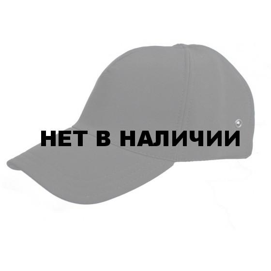Бейсболка МПА-15 черный, ткань Софтшелл