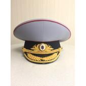Фуражка генерал Полиция полушерсть парадная модельная метанит