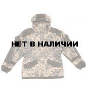 Костюм Горка-3 светлый пиксель съемный флис
