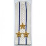 Погоны ВКС-ВВС-ВДВ вышитые Полковник парадные на белую рубашку