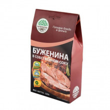 Готовое блюдо Буженина в собственном соку (Кронидов)