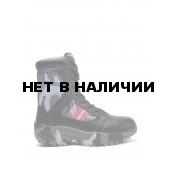 Ботинки с высокими берцами Черный камуфляж DR 3008