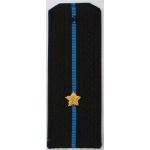 Погоны Авиация ВМФ вышитые Младший лейтенант повседневные трапеция