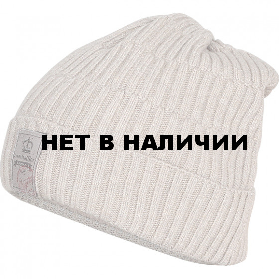 Шапка полушерстяная marhatter MMH 6711/2 серо-бежевый