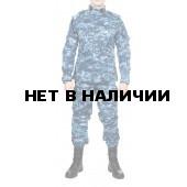 Костюм летний МПА-04 (НАТО-1), камуфляж серо-голубая цифра крупная, Мираж