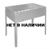 Мангал средний (500х300х500) в упаковке (сталь 1,5 мм) Технолит 3-02-0039