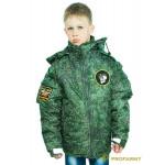Куртка зимняя детская Воин DPO-18 оксфорд пиксель