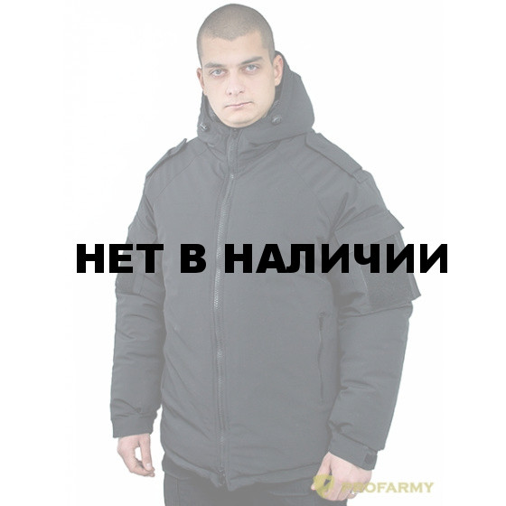 Куртка зимняя ВКБО мембрана черный