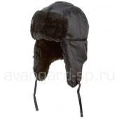 Шапка-ушанка Антифрост NEW цвет черный