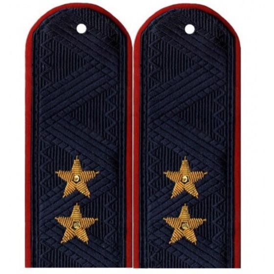 Погоны Полиция генерал-лейтенант на китель повседневные