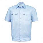 Рубашка Полиция светло-голубая к/р