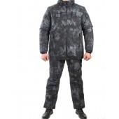 Костюм всесезонный МПА-38 (ткань курточная-мембрана) питон ночь