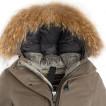 Пальто пуховое женское BASK VISHER черное