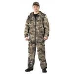 Костюм ТУРИСТ 2 куртка/брюки цвет:, камуфляж Питон коричневый, ткань : Твил Пич