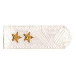 Погоны Юстиция генерал-лейтенант на белую рубашку повседневные