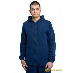 Куртка флисовая TERRA синяя