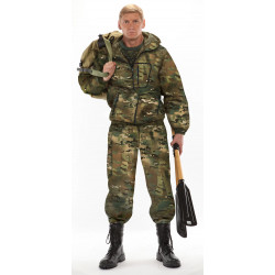 Костюм ТУРИСТ 1 куртка/брюки, камуфляж Мультикам, ткань : Грета