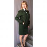 Куртка МО женская рип стоп зеленая