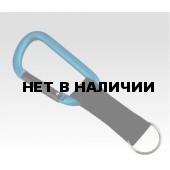 Брелок Карабин 8мм со стропой (упак=10 шт), 3218
