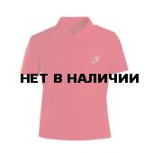 Рубашка поло Юнармия короткий рукав, красная