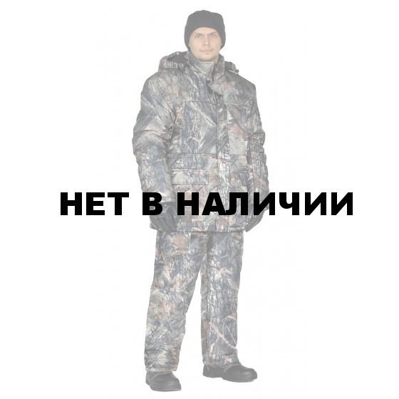 Костюм зимний СКАНДИН куртка/полукомб. цвет:, камуфляж Серый каштан, ткань : Алова
