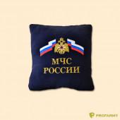 Подушка сувенирная с вышивкой МЧС