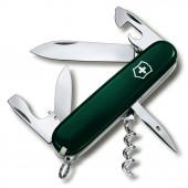 Нож перочинный Victorinox Spartan (1.3603.4R) 91мм 12 функций темно-зеленый картонная коробка