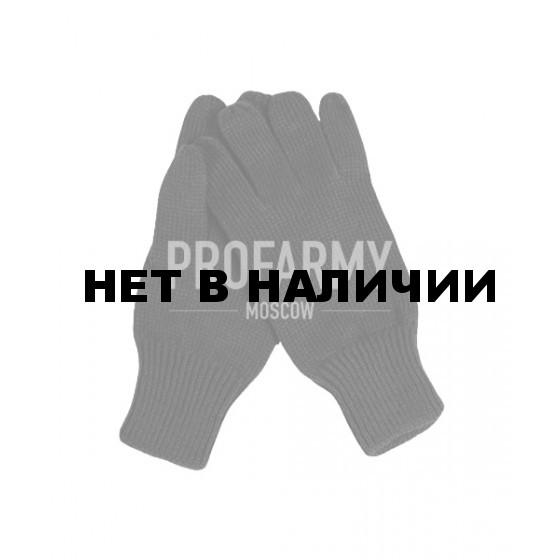 Перчатки п/ш черные вторая вязка (80% шерсти)