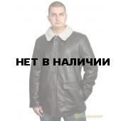 Куртка кожаная меховая 7155 Vegas Brown