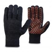 Перчатки трикотажные Драйф 10кл. хлопок-полиэфир с силиконовым покрытием