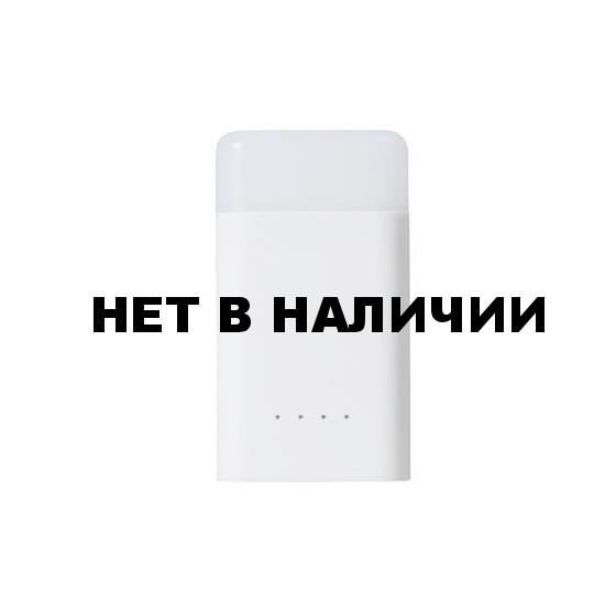 Фонарь+Зарядное устройство, ударопрочный и водостойкий CUBE QUICK Power Bank Light, 400люмен/10800мАч White, GY020009