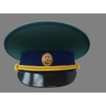 Фуражка Пограничные войска (нового образца) повседневная уставная