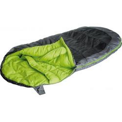 Мешок спальный OVO 170 тёмно-серый/зелёный, 23102