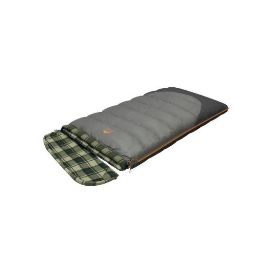 Мешок спальный SIBERIA WIDE TRANSFORMER одеяло, серый, левый