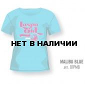 Футболка LASPO GIRL TEE Woman Malibu Blue, 01PMB