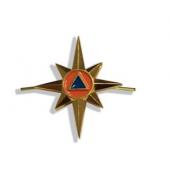Эмблема петличная МЧС нового образца 2020 года