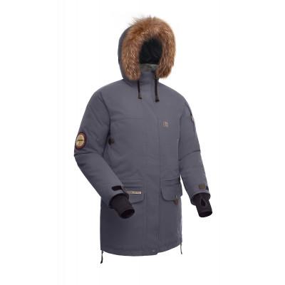 Женская пуховая куртка-парка BASK IREMEL темно-серая