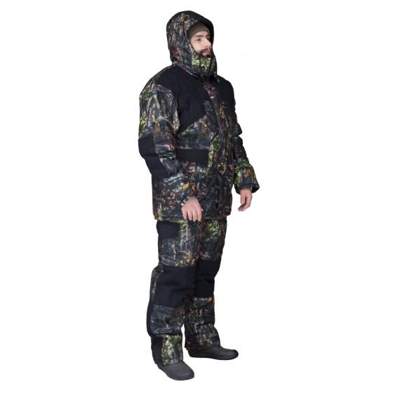 Костюм для зимней охоты и рыбалки Байкал-1 Тёмный лес