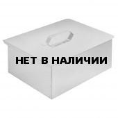 Коптильня одноярусная с поддоном для сбора жира (380х280х140)(сталь 0,5мм.) Технолит 6-01-0021