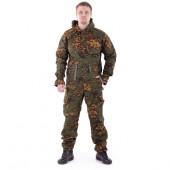 Костюм Снайпер-2 анорак рип-стоп с налокотниками и наколенниками партизан