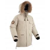 Куртка пуховая BASK TAIMYR V2 бежевая