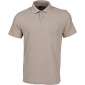 Рубашка Поло бежевая 44-46