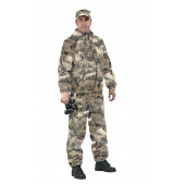 Костюм ТУРИСТ 3 куртка/брюки, цвет:, камуфляж Мох бежевый, ткань : Грета